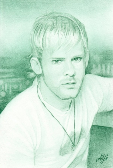 Dominic Monaghan by Allan